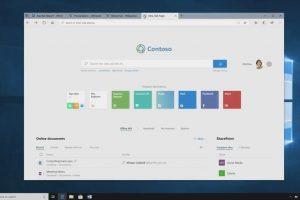 Microsoft представила Sets, объединяющую приложения на вкладках в одном окне»