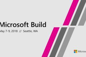 Трансляция конференции Microsoft Build 2018″