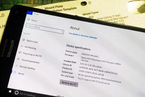 ARM-версия Windows 10 почти полностью работоспособна на Lumia 950 XL»