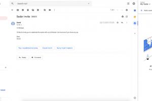 Вот так скоро будет выглядеть Gmail в браузере»
