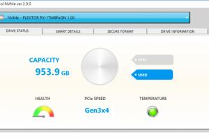 Приложение Plextool NVMe Edition обеспечит полный контроль за NVMe SSD-накопителем»